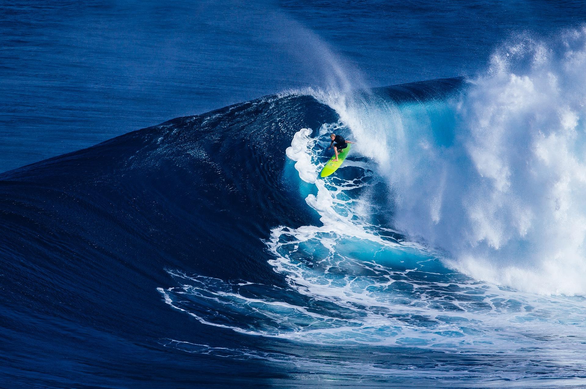 Surf en playas de México