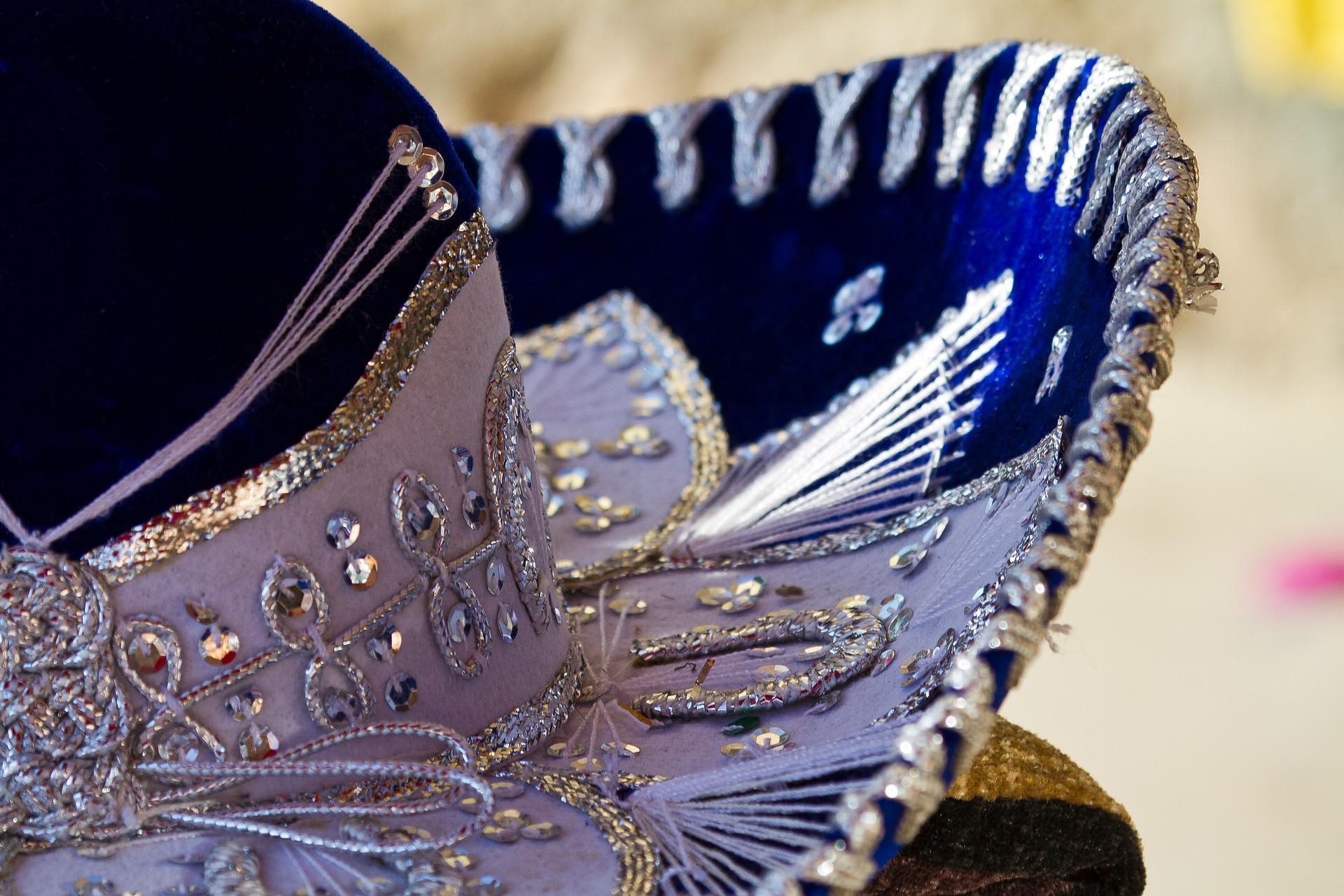 Sombrero Mariachi para viajar a Mexico
